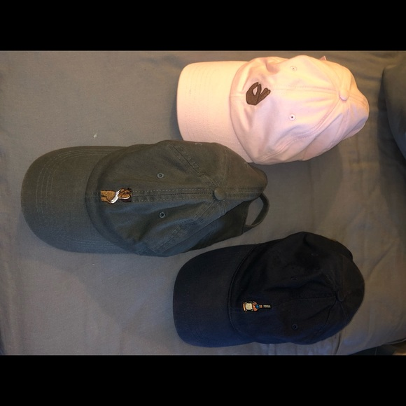 Other - Dad hat cap strap pink grey and navy blue